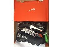 Authentic Nike X off white vapormax! Size 9 (never worn still in box with tag on)
