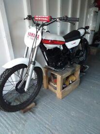 1978 Yamaha TY250 frame