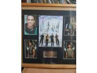 Signed limited edition JLS Photo frame
