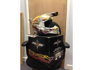 Motocross or bmx stunt helmet