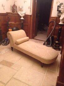 Edwardian 1910 Chaise Lounge.