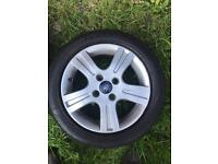 "15"" Ford Fiesta/Focus alloy wheels/tyres"