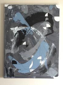 Original painting by myself 80cm by 60cm.