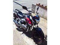 Suzuki inazuma 250cc 500 miles on clock show room condition new m.o.t 1 owner