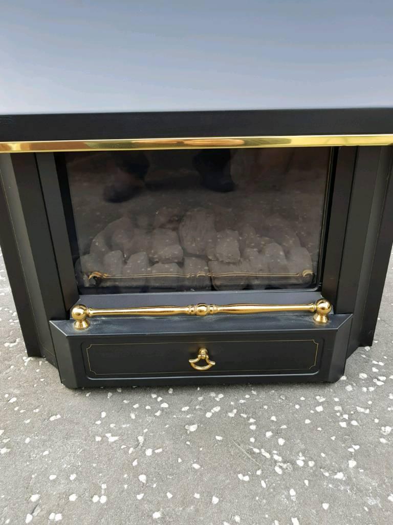 Valour Unigas 11 Black Beauty balanced flue gas fire