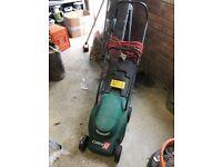 Cobra 32 electric lawnmower