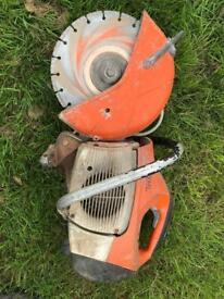 Stihl ts410 cutter
