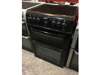 Beko BDVC664K 60cm Electric Double Oven Cooker - Black