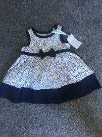 0-3 junior J dress