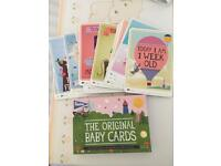 Baby Milestone Cards excellent cond £5