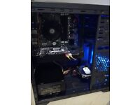 Gaming Desktop PC - i5, GTX 760, 11GB, 500GB, SSD, 750W