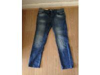 3 pairs of Men's slim Jeans 32short, Next and Topman