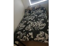 6.5m by 3m handmade bed and mattress