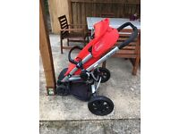 Quinny buzz buggy and carrycot