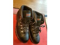 VIRTUALLY BRAND NEW MENS SAMSON STEEL TOECAP SAFETY BOOTS - UK SIZE 10