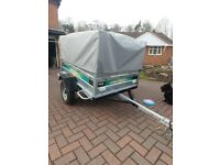 XL Trailer, 9 Birth Outwell Tent plus Various other items