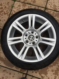 """BMW WHEELS / 17"""" All Weather Tyres in Excellent condition"""