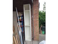 Free - White Billy Bookcase with extension