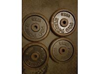 6 weight discs for sale