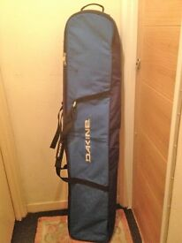 Dakine wheeled snowboard bags 175cm and 160cm