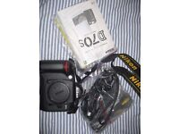 nikon D70s slr camera offers welcome