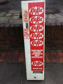 SOLD KitKat vending machine