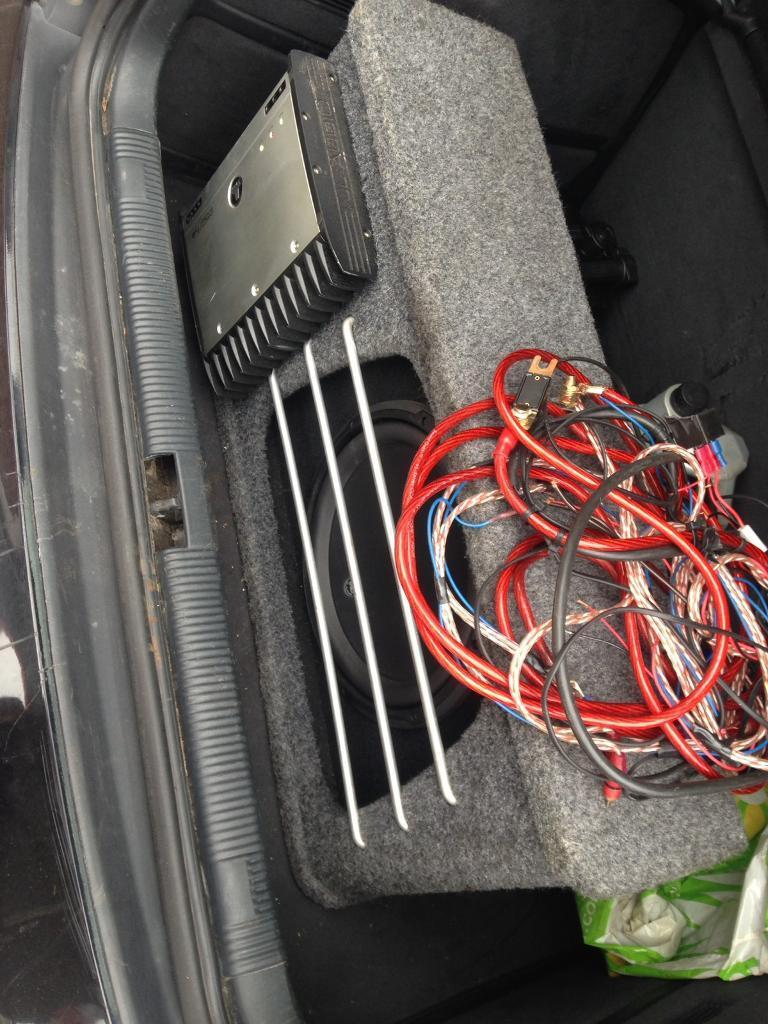 V3sub And Jl Audio Amp Wires In Bolton Manchester Gumtree Wiring