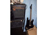 Legendery guitar Yamaha RGX112 for sale complete with Quality Amp Roland DAC 15X