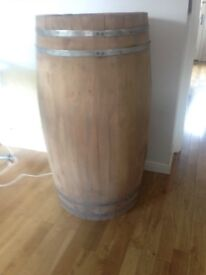Wooden Barrels for Display