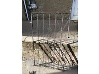 1940s original garden gate all parts included needs some love