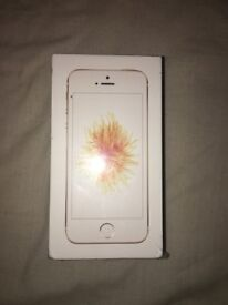 I phone SE 32GB in gold pay as you go on EE brand new in box sealed