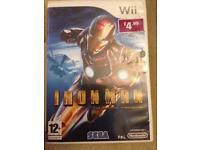 Nintendo Wii Iron man
