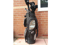 Hippo plus oversize irons clubs and bag! Overal in good used condition!L@@K PICTURES!