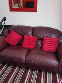 3 x 2 seater and storage foot stool