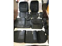 PVC Leather Seat Covers Head rest Hand rest Covers For Toyota PRIUS 2005-15 in Black