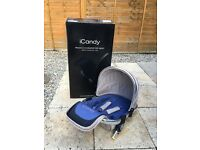 iCandy Peach 3 Stroller and Maxi Cosy car seat