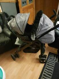 Silver Cross pram and carseat