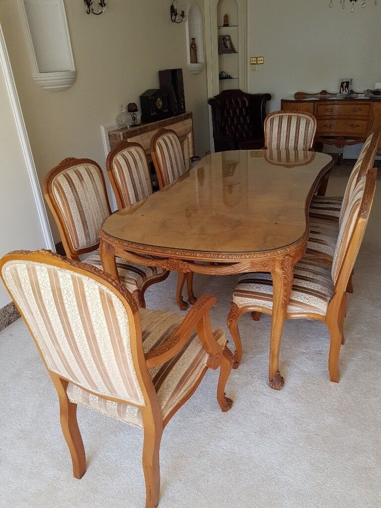 Antique Walnut Dining Table And Chairs In Edgware London Gumtree