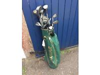 Golf Clubs, full set and bag