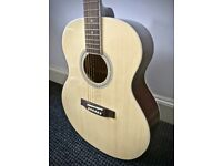 Steel-strung acoustic guitar