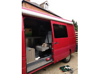 Rear Single Seat VW Van Camper Conversion
