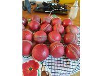 30 used cricket balls