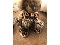 Accessorize Cat Slippers