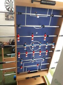4ft wooden football table