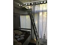 Ikea Double Loft Bed - White