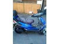 125 cc Low Mileage, '04' reason for selling I'm getting gear bike. Call best contact if interested.