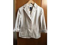 Creamy White Women's Jacket