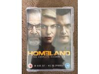 Homeland Seasons 1-5 (Watched Once, 20 discs!)