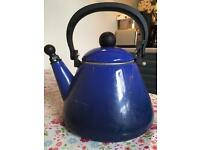 La crueset whistling kettle
