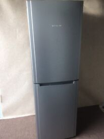 Hot point silver grey fridge freezer( delivery available)